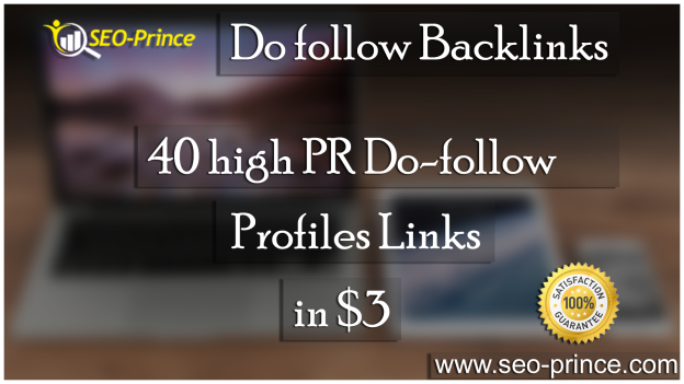 Do follow Backlinks 40 Profiles