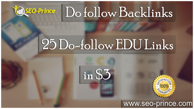 Do follow Backlinks 25 EDU